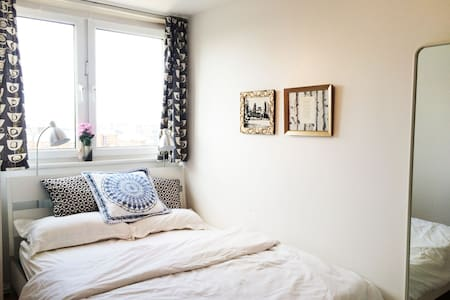 Cute Double room, Old St Shoreditch - Lontoo