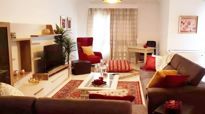A Luxurious Cozy Apartment Cairo 3