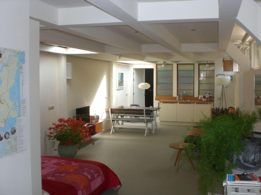 Apt full of light space comfort case in affitto a for Alloggio a amsterdam