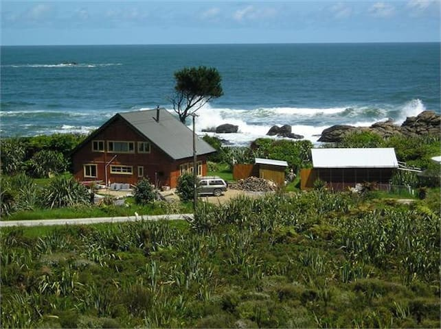 Welcome Bay Lodge - Absolute Ocean Near Punakaiki