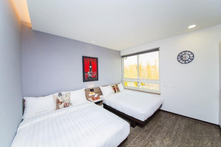 「177」旅行公寓~溫馨四人房