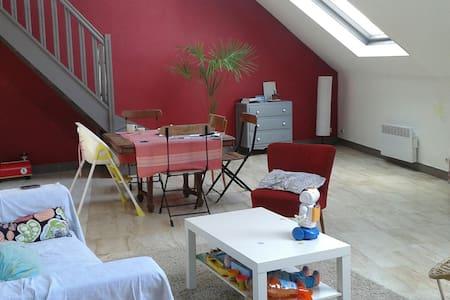 Duplex Apartment in S-Q city centre - Saint-Quentin