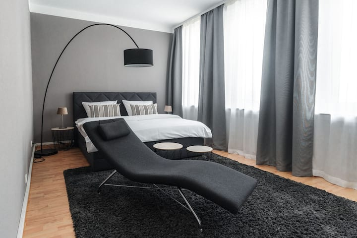 Stylisches Münster City-Apartment 83 m²
