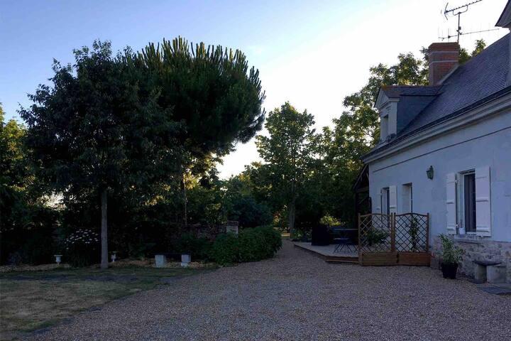 Chambre individuelle sur les bords de Loire