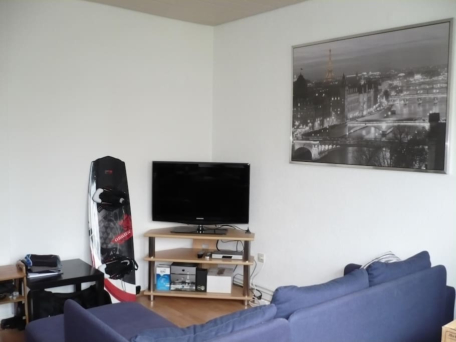 Guest room with TV