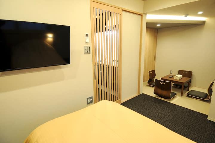 HIZ HOTEL京都二条城・人気観光地・地下鉄に近い・新築マンションタイプホテル(2)