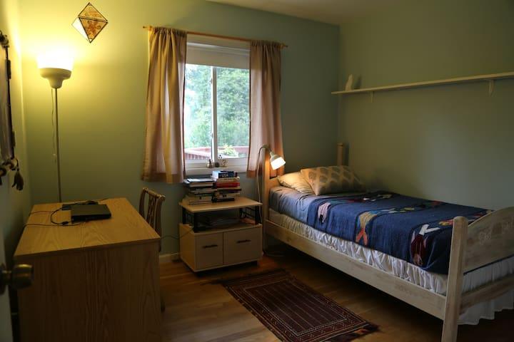 Blue Bedroom for 1 person - Fairfax - Casa