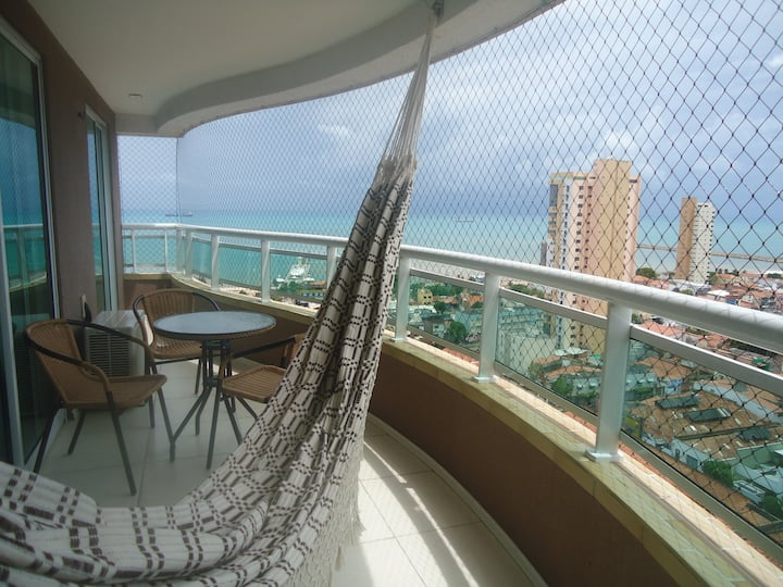 Nice place w/ sea view in Fortaleza