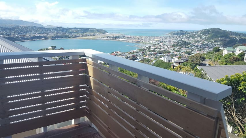 On top of Mt Victoria, Wellington Brand New Studio