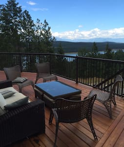Luxury Lake House, Lake Koocanusa near Wardner - Haus