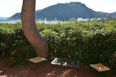 Porto Ercole Apt in Villa with view - Poggio Pertuso - Wohnung