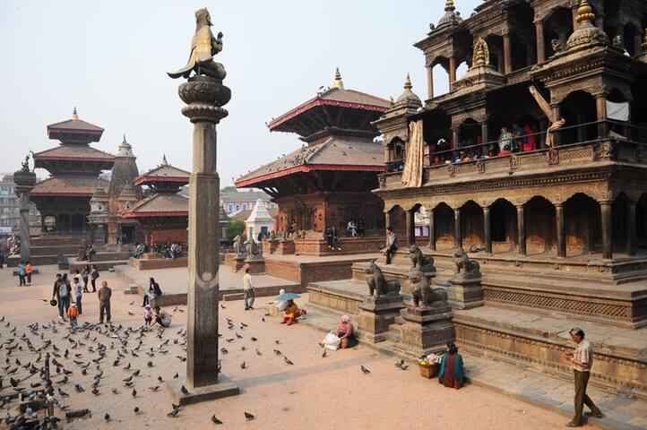 The (still) Magical Durbar Square- just 200 meters away from the house