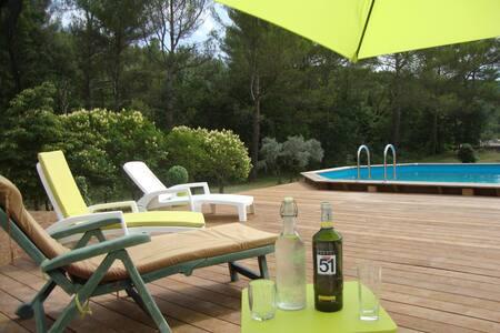 La Sauvagine: paradise!! - Saint-Zacharie - Haus