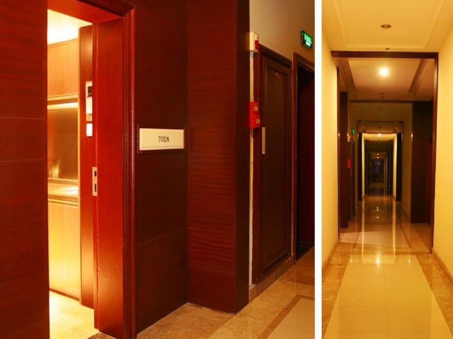 Door and Corridor