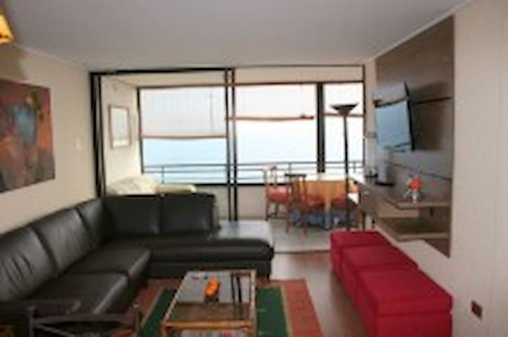 Cozy flat with a lovely view to the sea in Iquique - Iquique - Apartamento