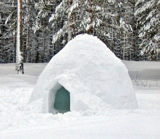 Igloo in full campito - Sulzberg - Iglo
