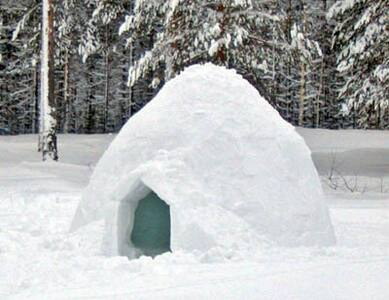 Igloo in full campito - Sulzberg - Igloo