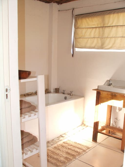 Bathroom in self catered cottage