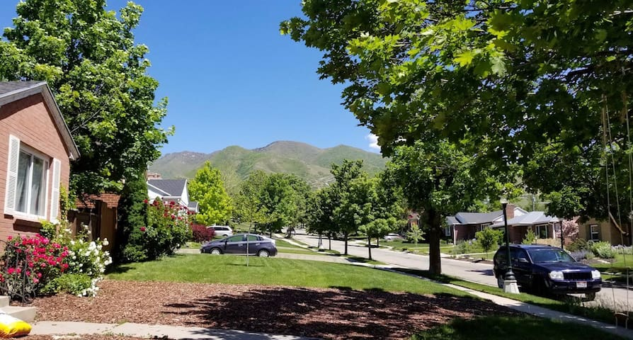 Foothill apartment near restaurants and mountains!