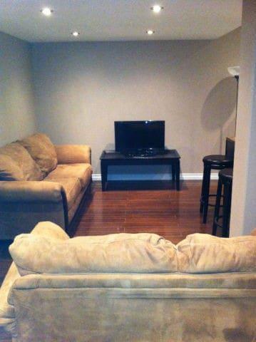 Bedroom in Quiet Timberlea Basement Suite