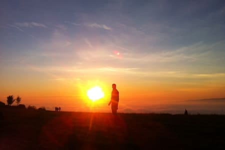 On the Sunset's Hill - Mezzane di sotto - 连栋住宅