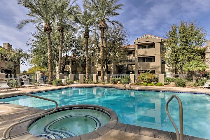 Phoenix Condo w/Lake, Heated Pool & Jacuzzi Access