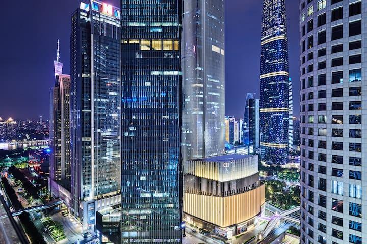 【天空.星云】兴盛路 珠江新城80平 高端公寓 美国领事馆 IGC K11 Canton Fair