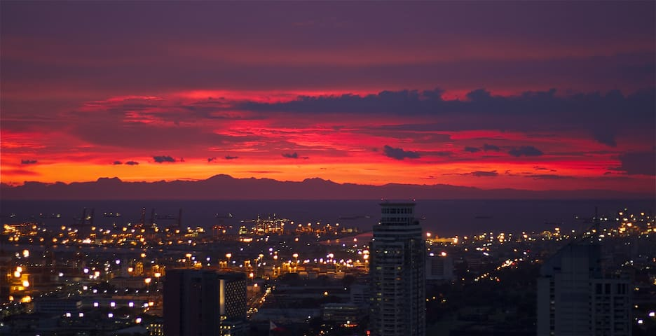 Fantastic View On Manila Bay Sunset - Manila - Apartment