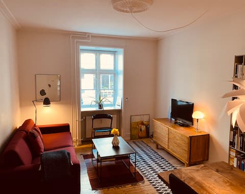 Cosy apartment in Central CPH, Nørrebro