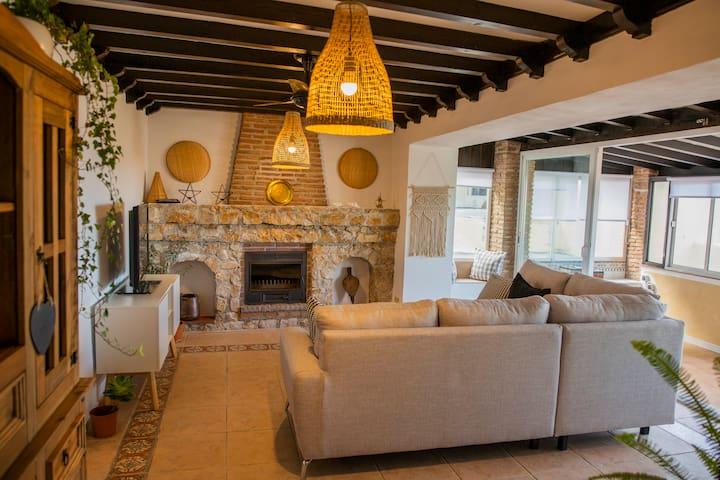 Viva una experiencia en una típica casa andaluza