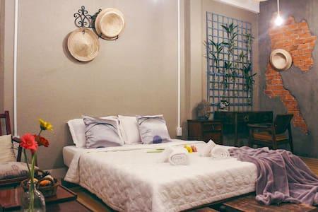 NHÀ SAIGON | Rustic Style & Spacious Room L2