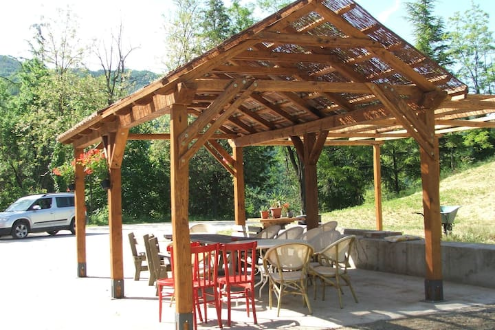 Holiday Home in Tredozio with Garden, BBQ & Parking