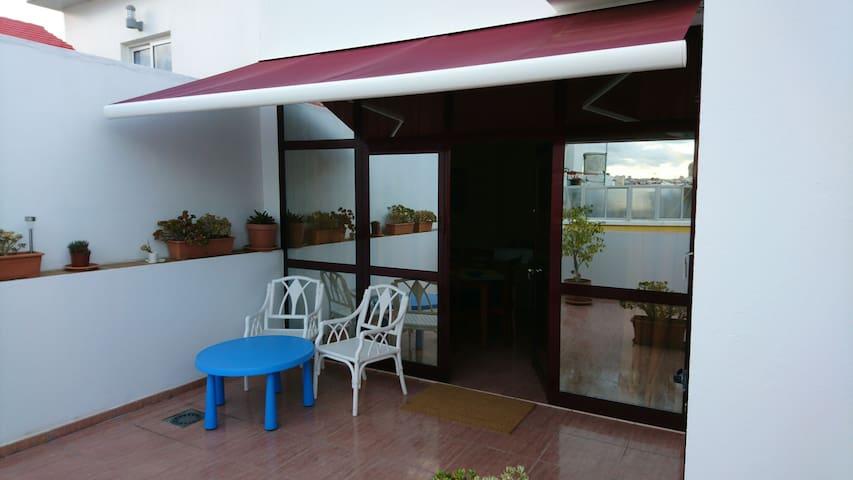 LOFT close to BEACH Terrace & WIFI - Las Palmas de Gran Canaria - Loft