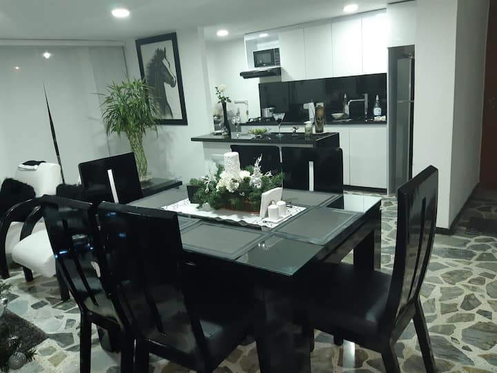 Apartamento moderno, cómodo, lindo en Pereira.