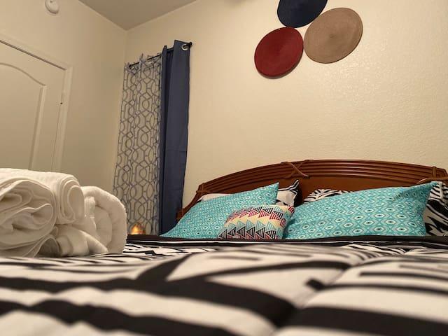 Delightful private room