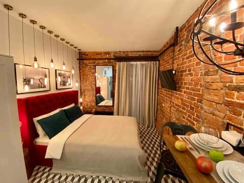 """FABULOUS-LOFT""apartment-famous street Rubinsteina"