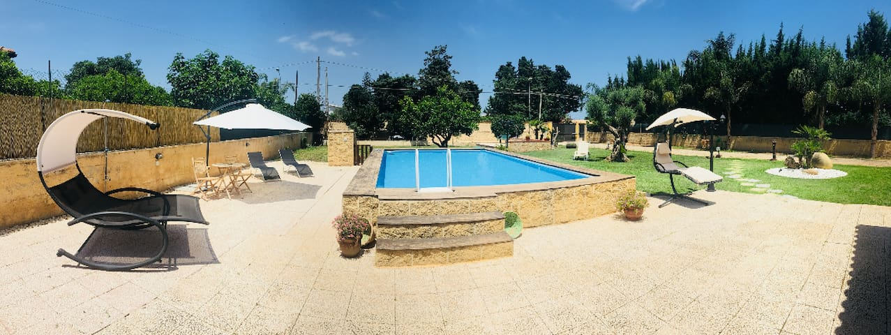 ** Apartment in villa ** Pool Area Garden Relax