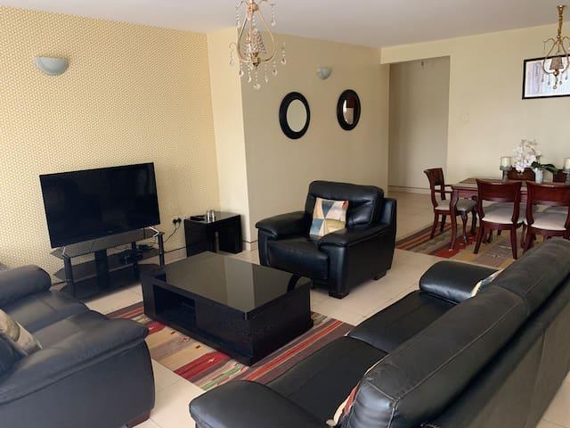 2 Bedroom, 2 Bathroom Furnished Apartment