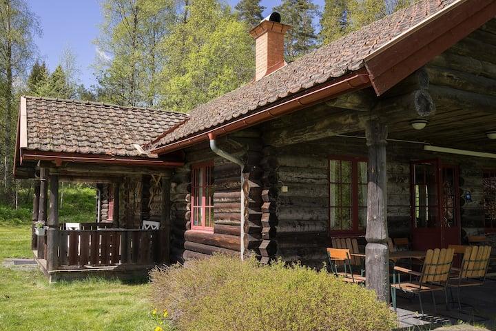 Flodströmska Huset Timmerstuga i Snöån