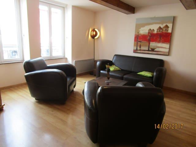 A louer par nuit, semaine, mois,tres jolie studio - Chauffailles - Appartement