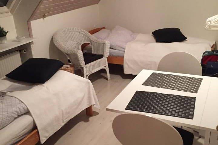 Dejligt værelse midt i Nexø by