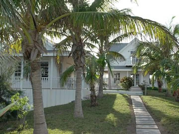 Private 12 Acre Beachfront Home on Pink Sand Beach