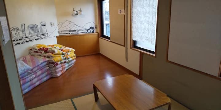 長野駅徒歩5分のゲストハウス内の個室(306/307)