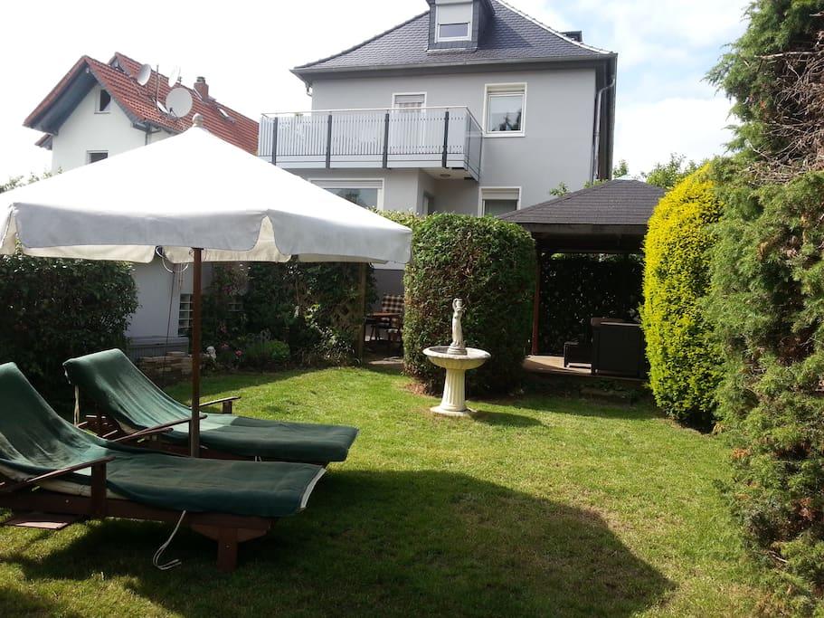 Entspannen in unserem Garten