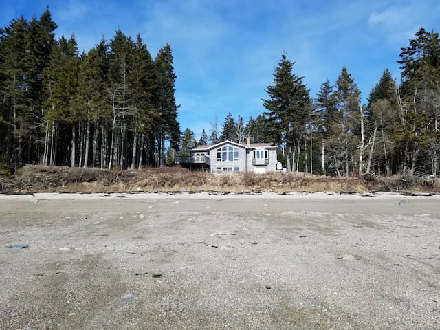 Downeast Beachfront Home