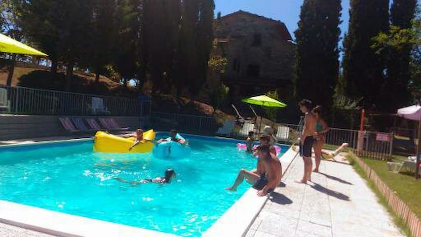 EXCLUSIVELY FOR PRIVATE PARTIES-HOLIDAYS FOR GROUP - Sansepolcro - 別荘