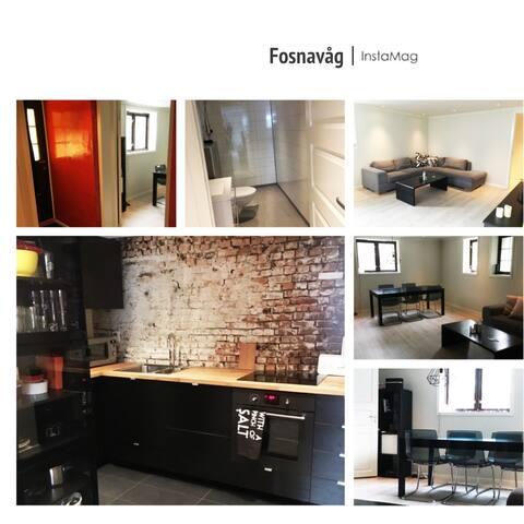 Solrun basement - Fosnavåg - Apartament