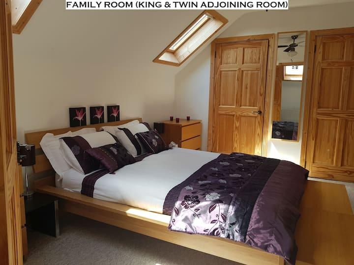 Family Room - White House, Fenagh, Carlow Sleep4-5