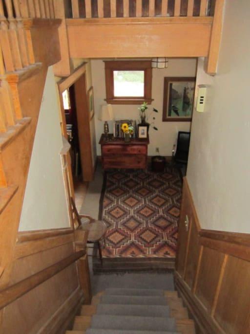 Vestibule from upstairs