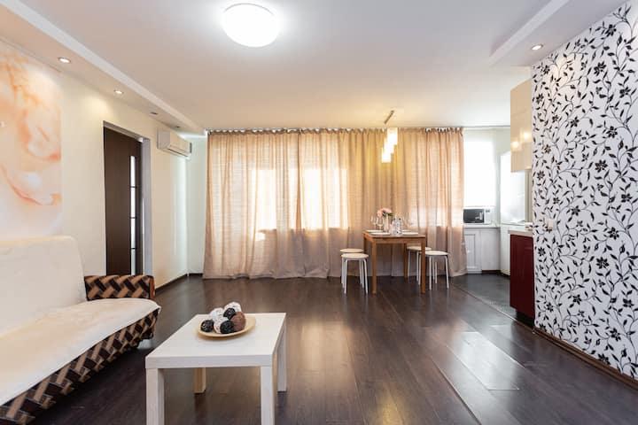2х комнатная квартира в центре Уфы